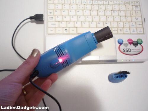 USB Mini Computer Vacuum Cleaner Review