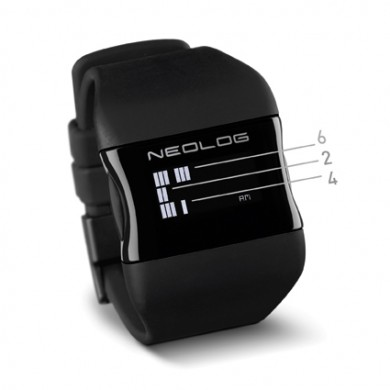 Armbanduhr NEOLOG OS OLED Watch With 3 Time Dimensions