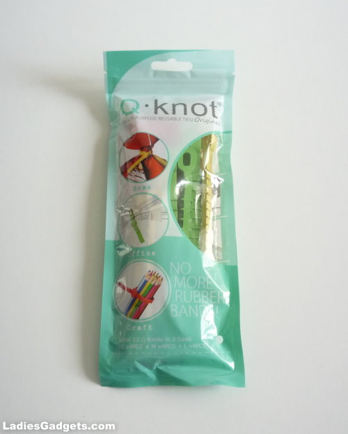 Q Knot Original Multipurpose Reusable Ties - Review