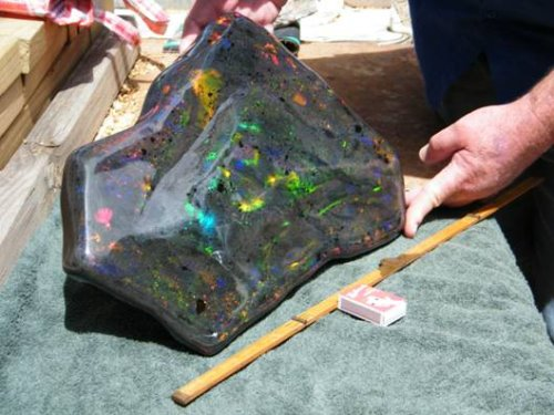 Largest Opal Matrix Revealed by Stuart Hughes
