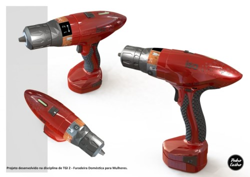 Cordless Drill Design for Women