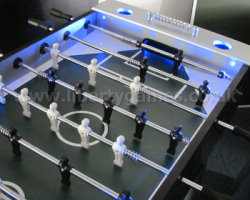A LED lit Table Football Table for Your Home