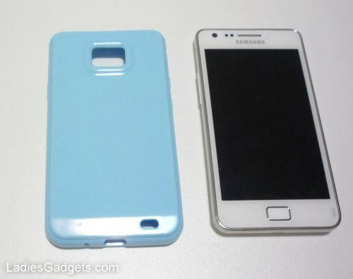 Hands on Review Sky Blue Gel Skin Case (6)