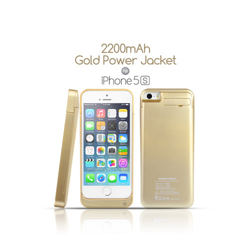 Gold Power Case and Stand for your Gold iPhone 5S (5)