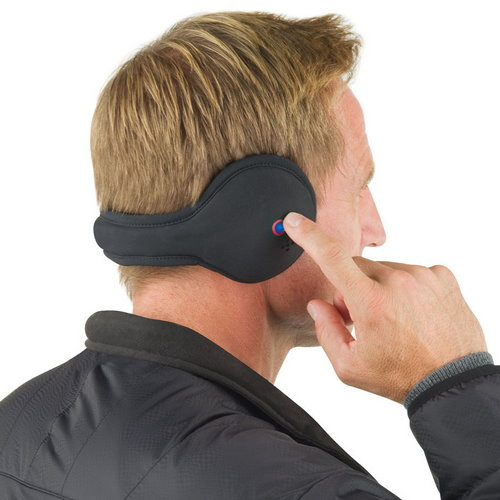 Behind the Neck Ear Warmers with Bluetooth