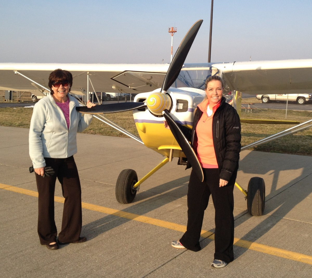 Flying the Rans S7 with Jessie!