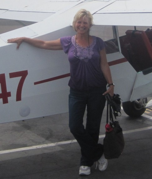 Sue Schaffer's 1st solo April 12, 2013!
