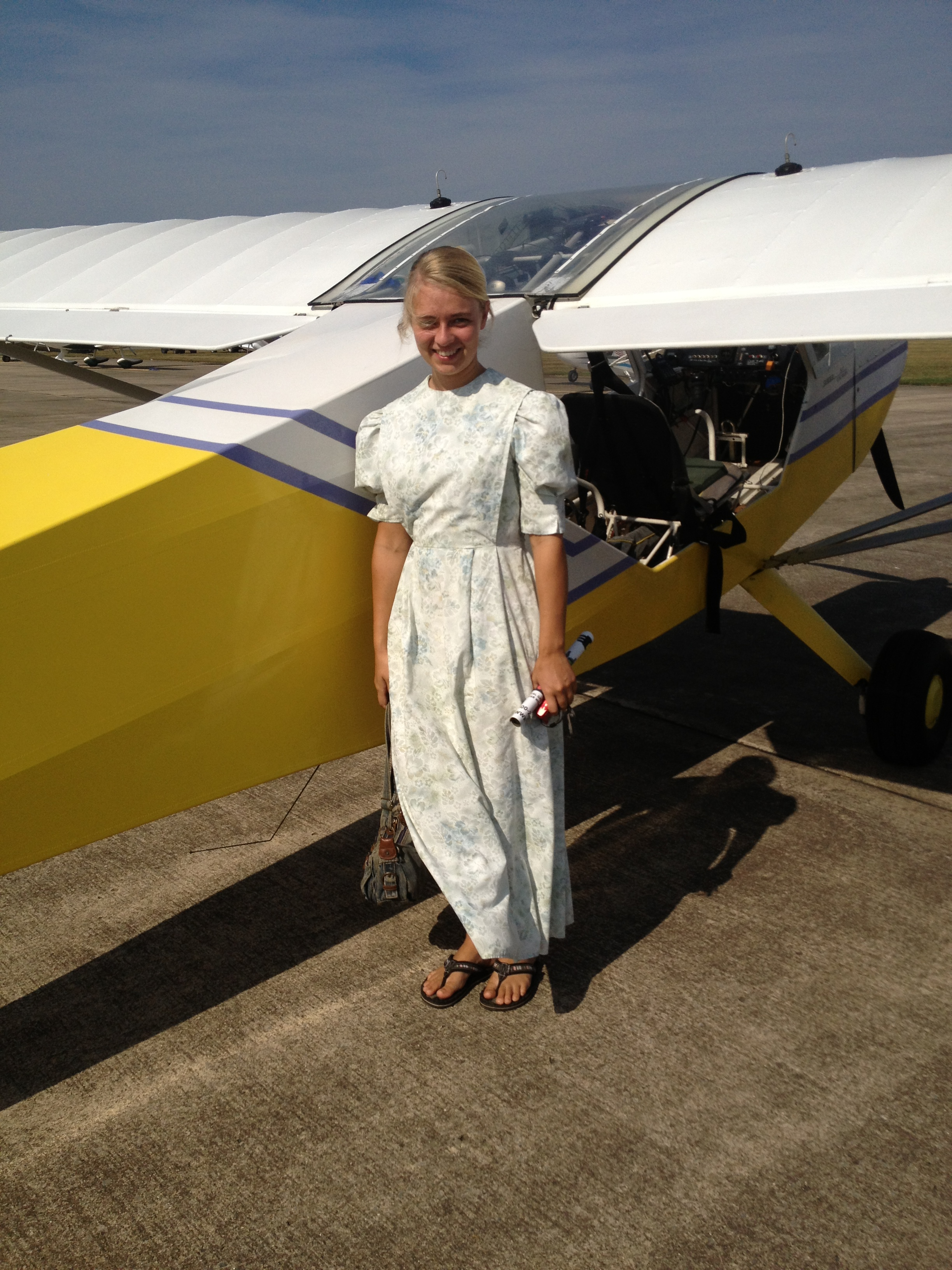 Judy's flying adventure week begins at the Midwest LSA Expo