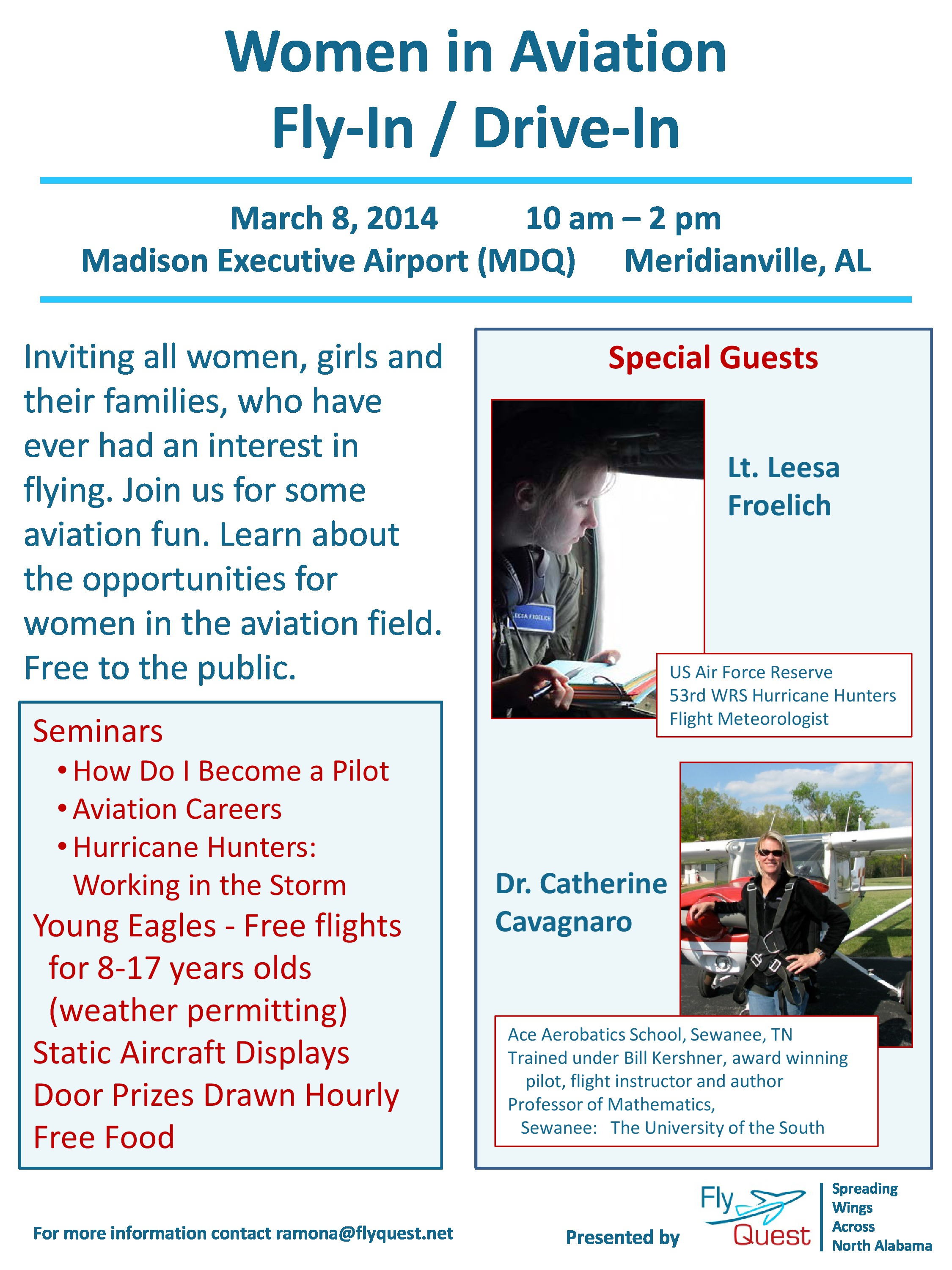 Women In Aviation Fly-in – Alabama