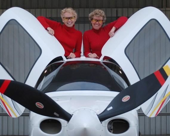 Dianna Stangler and Joyce Wilson