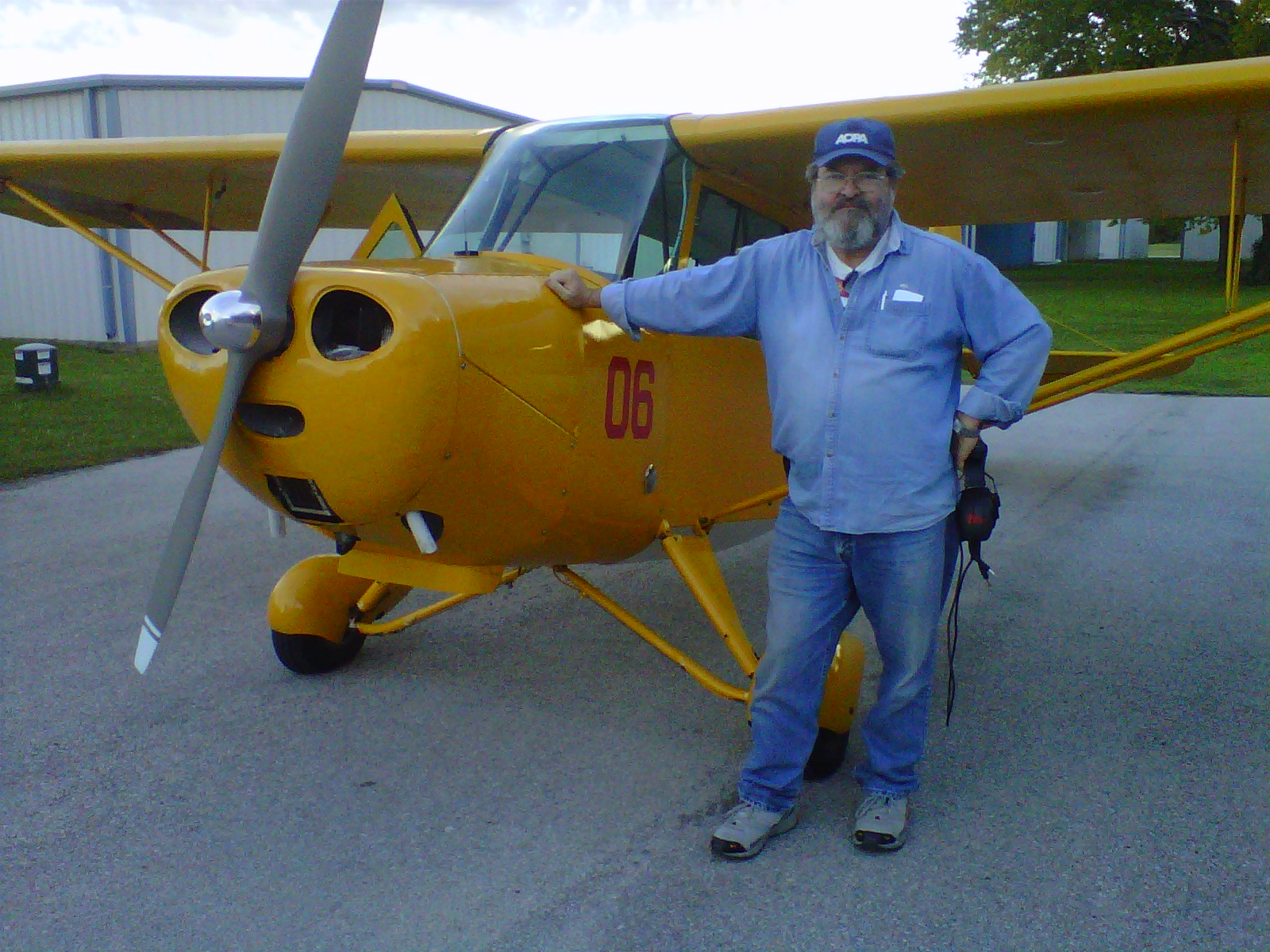 Rich Dugger: I'm no lady but I do fly a taildragger