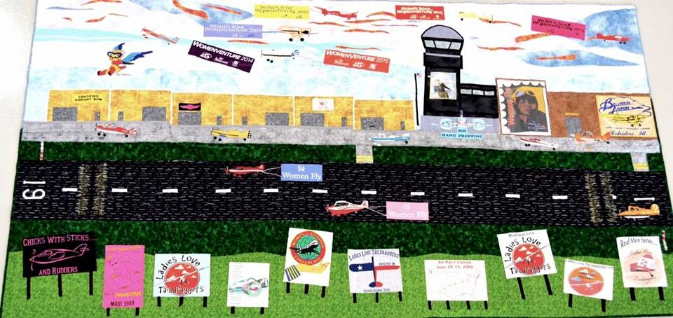 The River Raffle Aviation Quilt Winner is …..