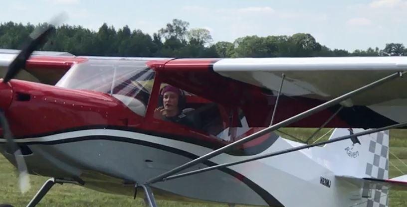 Lady Taildragger Pilot/Rans S-20 Homebuilder, 1st Test Flight