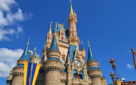 keep that holiday feeling - Cinderella's castle
