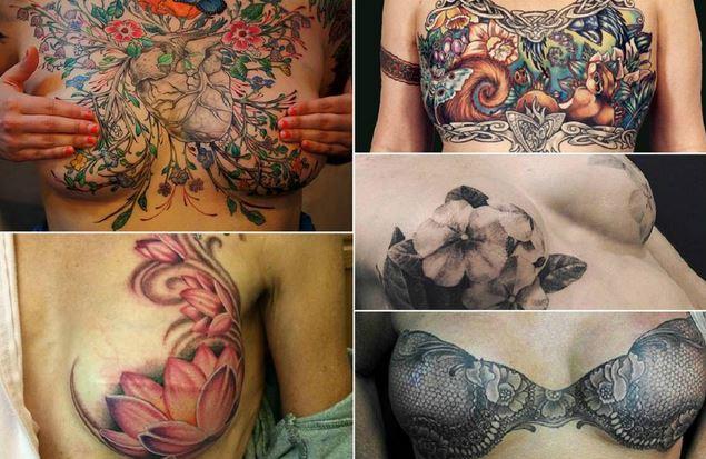Tumore al seno: quando un tatuaggio nasconde le cicatrici e restituisce sorriso 3