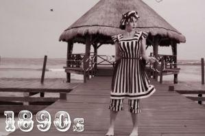 VIDEO: i costumi da bagno dalla fine del 1800 a oggi