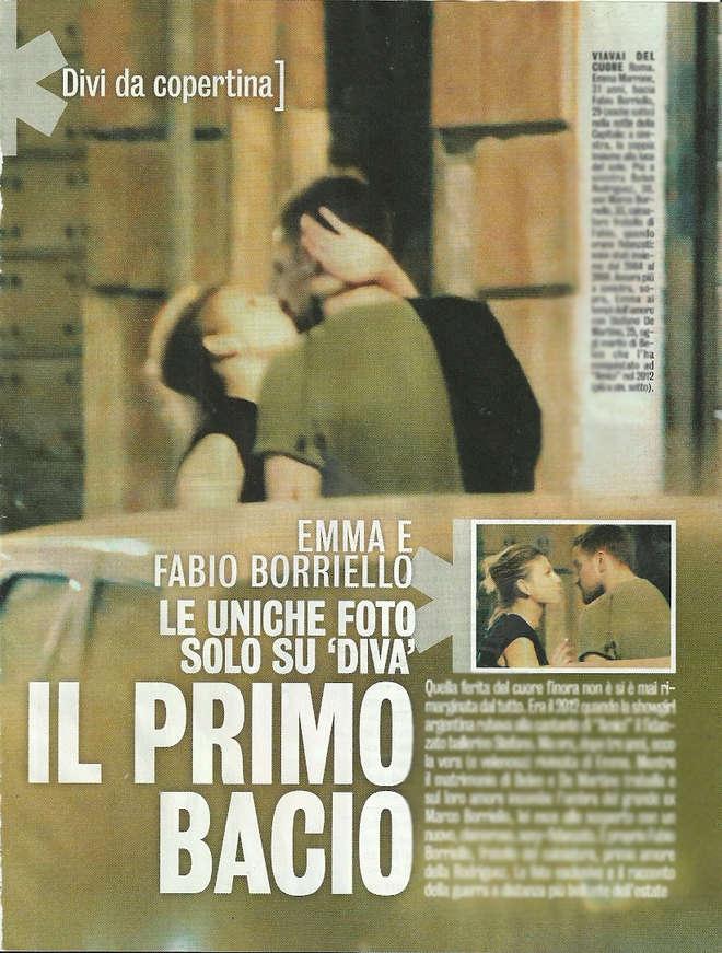 Emma Marrone e Fabio Borriello, baci appassionati a Roma. FOTO su Diva e Donna