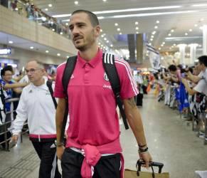 Marchisio, Buffon, Llorente, Pogba a Shanghai: arrivo in aeroporto FOTO 21