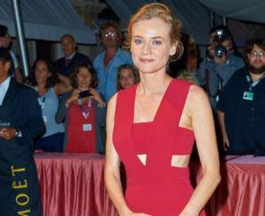Diane Kruger, tutina rossa alla Mostra del Cinema di Venezia FOTO