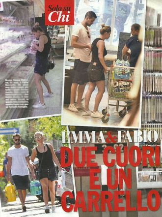 Emma Marrone-Fabio Borriello: spesa insieme al supermercato FOTO