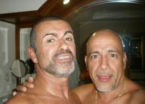 George Michael a petto nudo in hotel con l'amante FOTO4