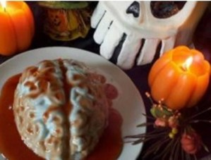 Speciale Halloween: Cervello di panna