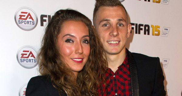 Lucas Digne: chi è Tiziri, moglie del calciatore della Roma 03
