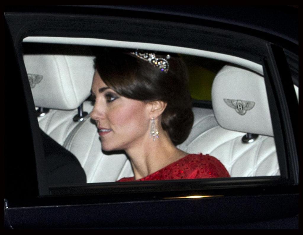 Kate Middleton e il mistero della corona...FOTO