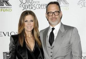 Tom Hanks, moglie Rita Wilson vince lotta contro cancro al seno