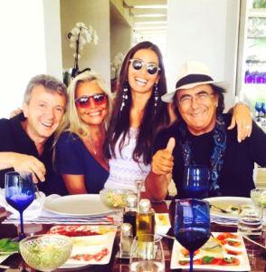 Albano Carrisi a pranzo con Mara Venier e...FOTO