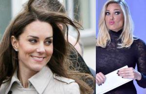 Kate Middleton e Ilary Blasi: look premaman a confronto FOTO