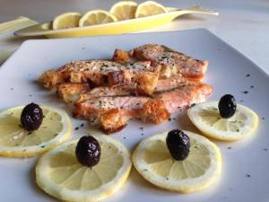 Filetti di Salmone al forno