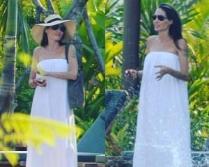 Angelina Jolie sempre più magra? Si nascondo sotto a... FOTO