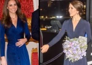 Kate Middleton e Mary di Danimarca gemelle...mancate! FOTO