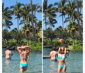 Britney Spears a bordo piscina,2