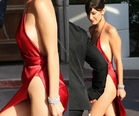Bella Hadid: l'abito Alexandre Vauthier è da impazzire FOTO