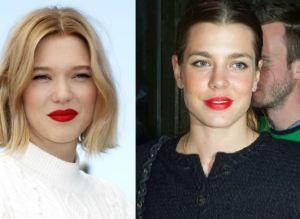 Charlotte Casiraghi, Léa Seydoux: labbra impeccabili FOTO