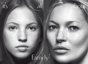 Kate Moss e la figlia Lila Grace su Vogue Italia FOTO3