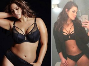 Ashley Graham, accuse social Sei troppo dimagrita6