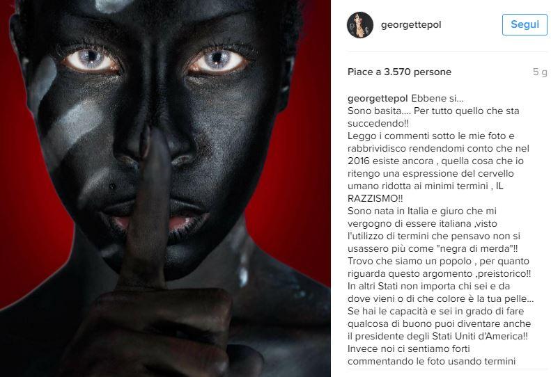 """Temptation Island, Georgette si sfoga su Instagram: """"Basita per.."""""""