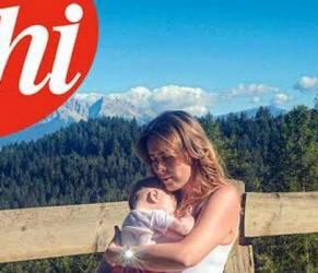 Maria Elena Boschi, prove da mamma con la nipotina FOTO su Chi