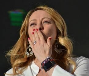 Giorgia Meloni ha partorito: è nata Ginevra FOTO
