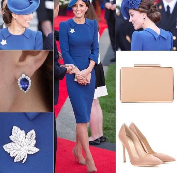 Kate Middleton deliziosa: blu o rosso, sfida di look FOTO