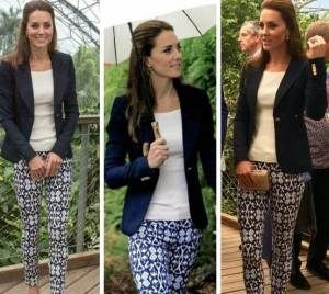 Kate Middleton, magrissima in casual chic: giacca e skinny FOTO