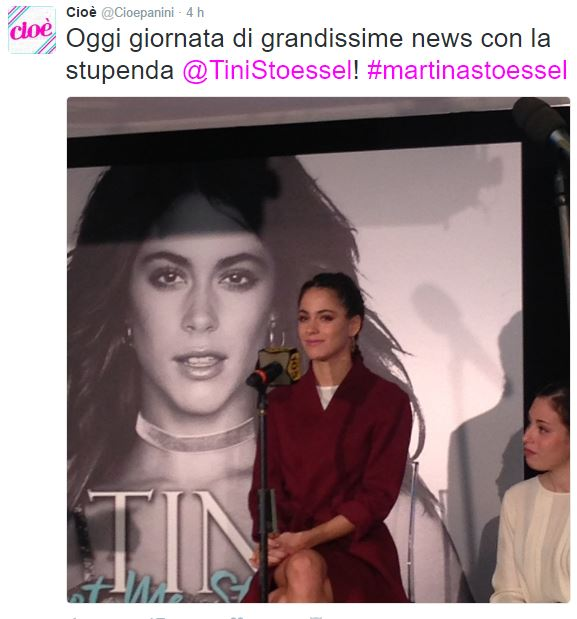 Martina Stoessel a Milano con...il fidanzato Pepe!