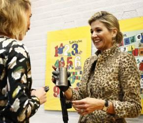 Maxima d'Olanda osa: tailleur leopardato FOTO