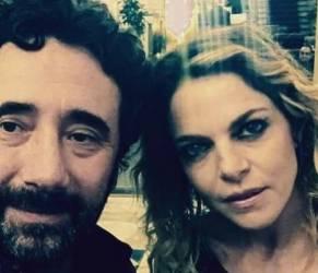 Claudia Gerini e Andrea Preti: retroscena. Lei e Zampaglione...