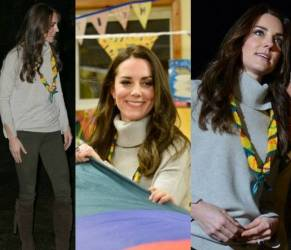 Kate Middleton versione casual: maglione e skinny low cost FOTO