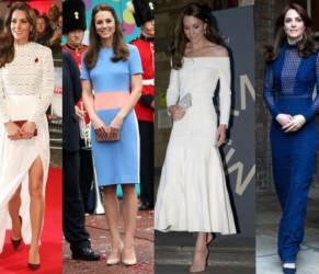 Kate Middleton, lezioni di stile: i look più belli del 2016 FOTO