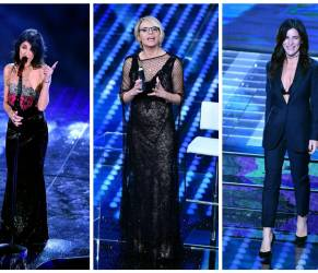 Sanremo 2017: look e stilisti seconda serata FOTO